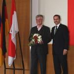 Ministerpräsident a.D. Matthias Platzeck mit Prof. Dr. Helmut Reihlen