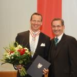 Ministerpräsident a.D. Matthias Platzeck mit Henry Maske