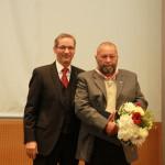 Ministerpräsident a.D. Matthias Platzeck mit Henry Pottag