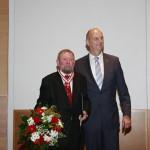 Ministerpräsident Dietmar Woidke mit Herbert Sander