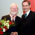 Ministerpräsident a.D. Matthias Platzeck mit Dr. Hinrich Enderlein