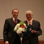 Ministerpräsident a.D. Matthias Platzeck mit Holger Bartsch