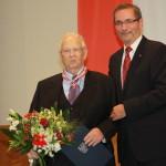 Ministerpräsident a.D. Matthias Platzeck mit Horst Mosolf