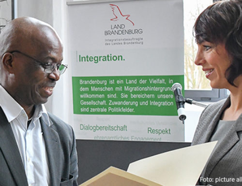 Integration ist ein Schlüssel für den Zusammenhalt der Gesellschaft