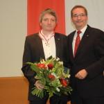 Ministerpräsident a.D. Matthias Platzeck mit Jörg Müller
