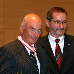 Ministerpräsident a.D. Matthias Platzeck mit Jörg Schönbohm