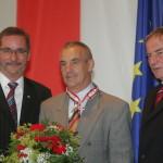 Ministerpräsident a.D. Matthias Platzeck mit Jürgen Eschert