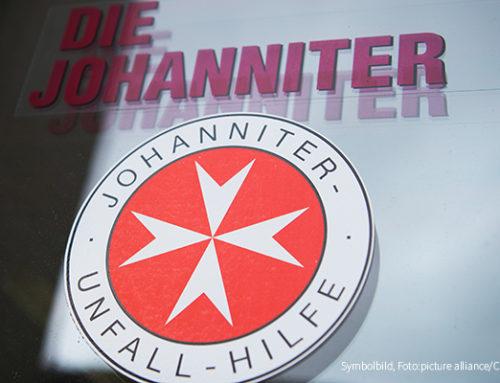 """""""Alltagshelden mit kühlem Kopf"""" – Lottomittel für ehrenamtliche Motorrad-Staffel der Johanniter"""