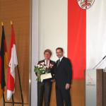 Ministerpräsident a.D. Matthias Platzeck mit Jutta Lau