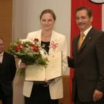 Ministerpräsident a.D. Matthias Platzeck mit Jutta Quoos