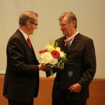 Ministerpräsident a.D. Matthias Platzeck mit Karl Lau