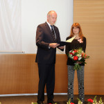 Ministerpräsident Dietmar Woidke mit Katja Ebstein