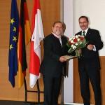 Ministerpräsident a.D. Matthias Platzeck mit Klaus Windeck