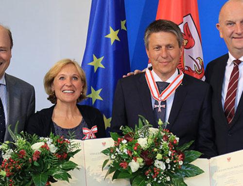 Von der LPG-Küche zur Confiserie: Woidke überreicht  Verdienstorden des Landes an Lausitzer Felicitas-Gründer