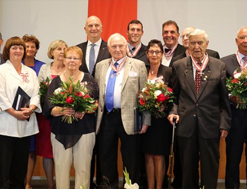 Verdienstorden des Landes Brandenburg: Woidke ehrt besonders engagierte Persönlichkeiten für Lebensleistung und Leidenschaft