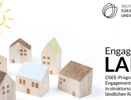 Jetzt bewerben für DSEE-Programm für Engagement-Netzwerke in strukturschwachen ländlichen Räumen
