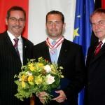 Ministerpräsident a.D. Matthias Platzeck mit Manfred Kurzer
