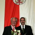 Ministerpräsident a.D. Matthias Platzeck mit Dr. Manfred Stolpe