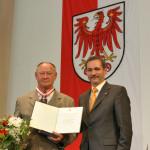 Ministerpräsident a.D. Matthias Platzeck mit Dr. Manfred Werban