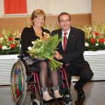 Ministerpräsident a.D. Matthias Platzeck mit Marianne Seibert