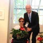 Ministerpräsident Dietmar Woidke mit Martina Willing
