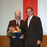 Ministerpräsident a.D. Matthias Platzeck mit Michael Schönberg