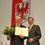 Ministerpräsident a.D. Matthias Platzeck mit Prof. Dr. Michael Succow