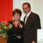 Ministerpräsident a.D. Matthias Platzeck mit Monika Walter