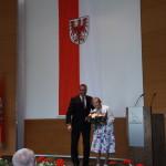 Ministerpräsident a.D. Matthias Platzeck mit Nora Neese