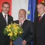 Ministerpräsident a.D. Matthias Platzeck mit Norbert Ohst