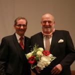Ministerpräsident a.D. Matthias Platzeck mit Peter Dreißig