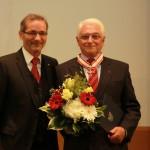 Ministerpräsident a.D. Matthias Platzeck mit Peter Lange