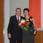 Ministerpräsident a.D. Matthias Platzeck mit Petra Damm
