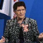 Landesordensträgerin Prof. Dr. Rita Süssmuth, Foto picture alliance/dpa