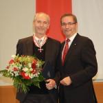 Ministerpräsident a.D. Matthias Platzeck mit Roland Rust