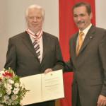 Ministerpräsident a.D. Matthias Platzeck mit Prof. Dr. Rolf Emmermann