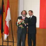 Ministerpräsident a.D. Matthias Platzeck mit Prof. Dr. Rolf Kuhn