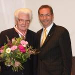 Ministerpräsident a.D. Matthias Platzeck mit Prof. Dr. Rolf Mitzner