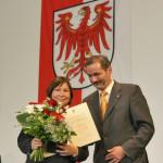 Ministerpräsident a.D. Matthias Platzeck mit Dr. Roswitha Perlwitz