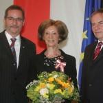 Ministerpräsident a.D. Matthias Platzeck mit Ruth Cornelsen