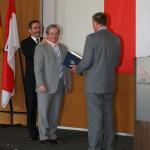 Ministerpräsident a.D. Matthias Platzeck mit Prof. Siegfried Matthus