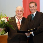 Ministerpräsident a.D. Matthias Platzeck mit Dr. Sokrates Giapapas