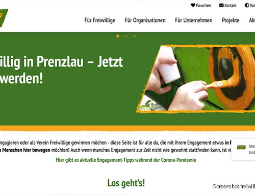 """Freiwillig in Prenzlau"" – Engagement-Plattform ist online"