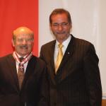 Ministerpräsident a.D. Matthias Platzeck mit Volker Schlöndorff