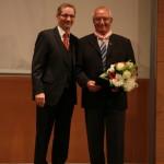 Ministerpräsident a.D. Matthias Platzeck mit Walter Kassin