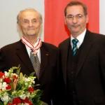 Ministerpräsident a.D. Matthias Platzeck mit Werner Bader