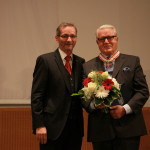 Ministerpräsident a.D. Matthias Platzeck mit Dr. Werner Martin
