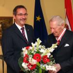 Ministerpräsident a.D. Matthias Platzeck mit Prof. Dr. Werner Otto
