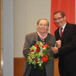 Ministerpräsident a.D. Matthias Platzeck mit Prof. Dr. Wiland Förster