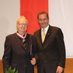 Ministerpräsident a.D. Matthias Platzeck mit Prof. Wolfgang Hempel